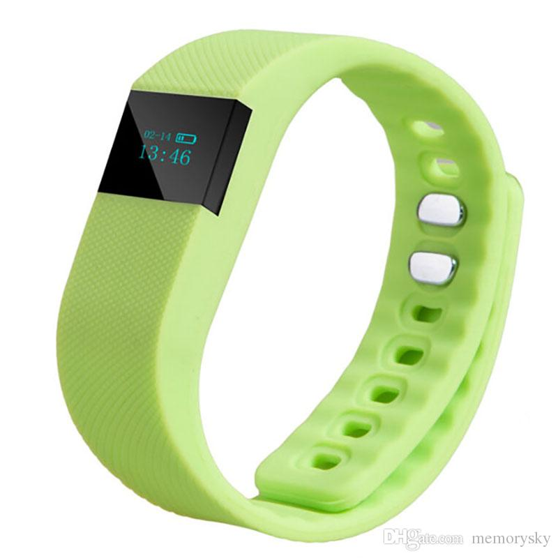 FITBIT TW64 Smart Bracelet Bluetooth Wristbands watch Waterproof & Passometer & Sleep Tracker Function for android ios phone