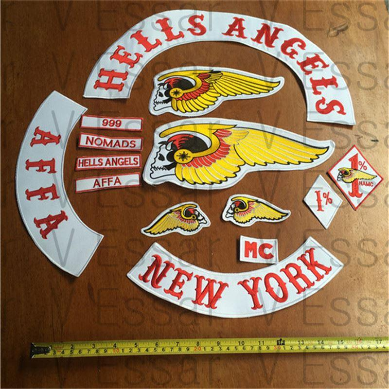 2017 hells angels patch new york embroidered patches. Black Bedroom Furniture Sets. Home Design Ideas