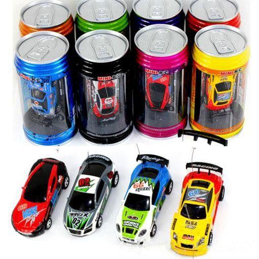 Mini-Racer Remote Control Car Coke Can Mini RC Radio Remote Control Micro Racing 1:64 Car 8803