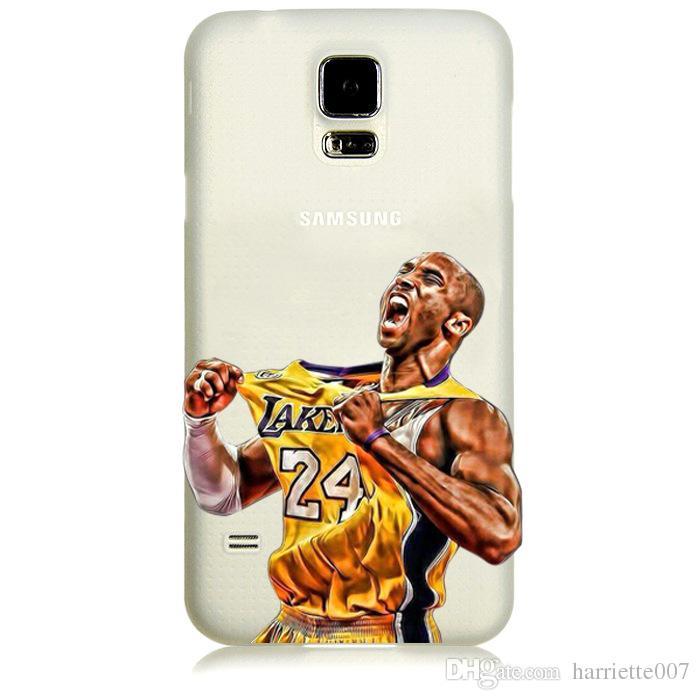 Ультра тонкий окрашенные basketboll + звезды футбола Case для iPhone 6 6 S 4.7' / 6 Plus 6 S Plus 5.5 ' PC обложка Fundas для Samsung
