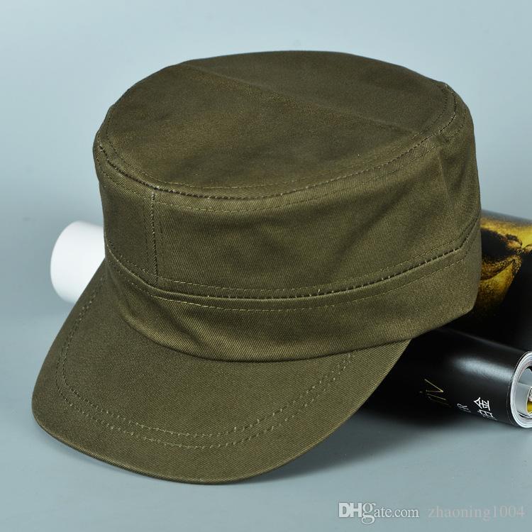 Designer Blank Cotton Army Cap Plain Adjustable Cotton Hats For ... baf82b42faf