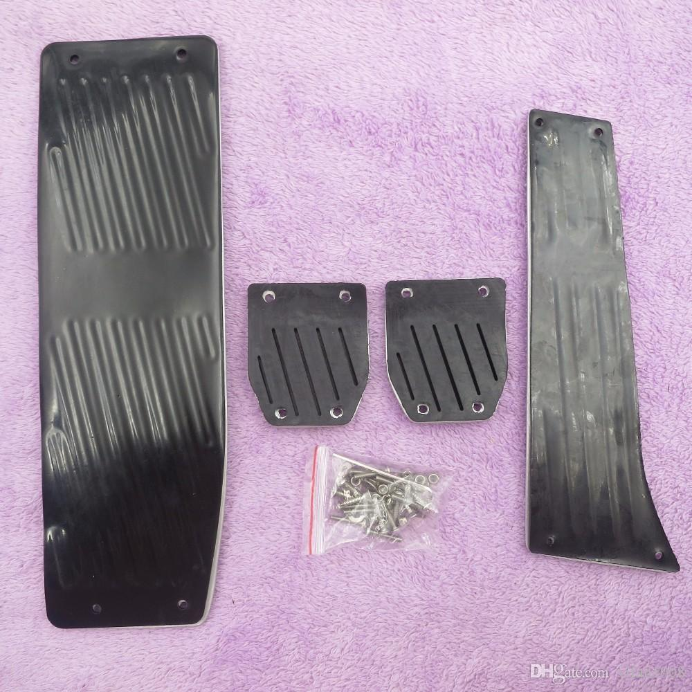 Accessoires automobiles pour BMW 3 Série 5 E30 E32 E34 E36 E38 E39 E46 E87 E90 E91 X5 X3 Z3 MT / AT pédale Tapis couverture Autoétiquettes Styling
