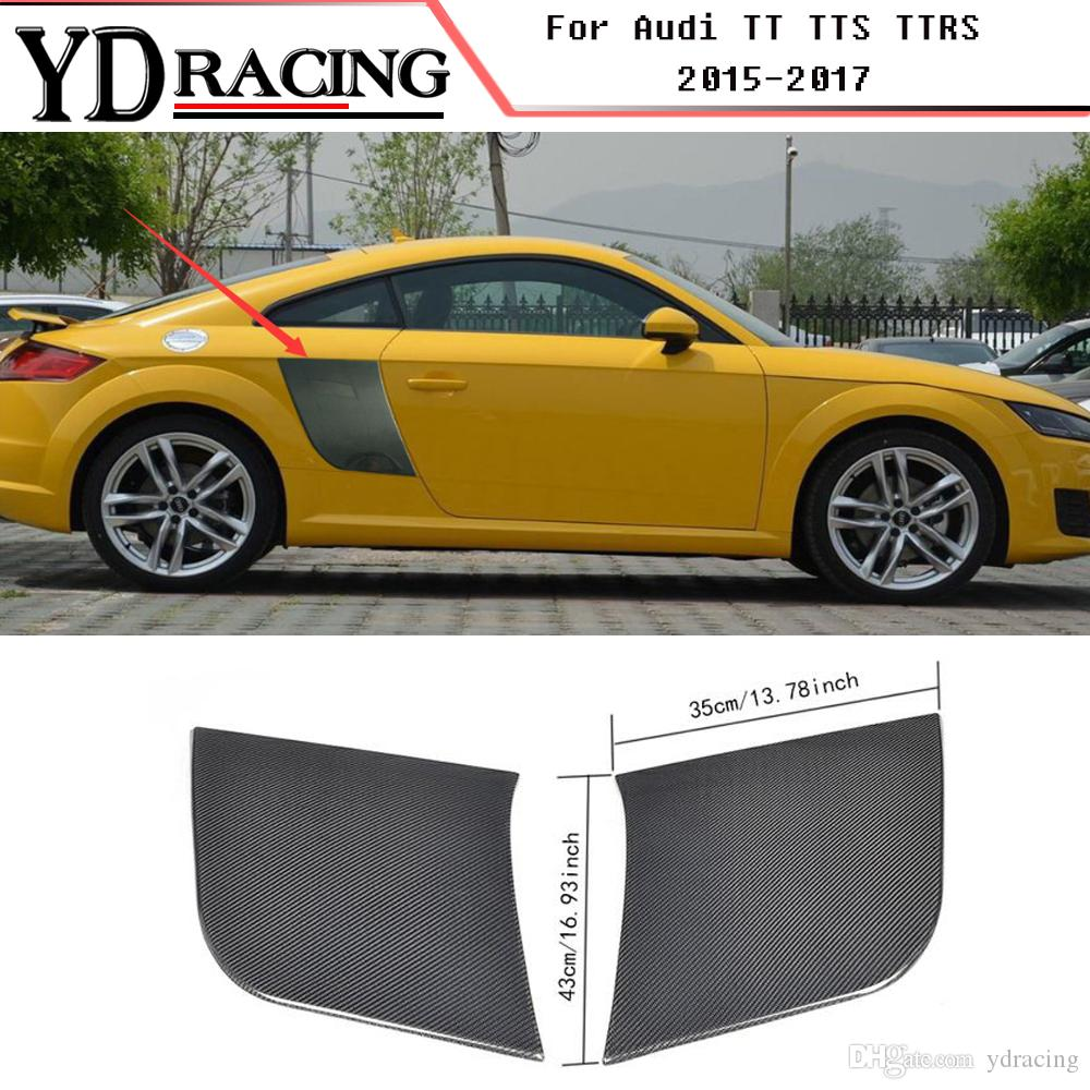 Car Styling Carbon Fiber Racing Side Door Panel Fender