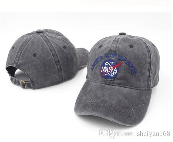 77eee0d92b5 Strapback Hat Baseball Caps for Men Women NASA I NEED MY SPACE Snap ...
