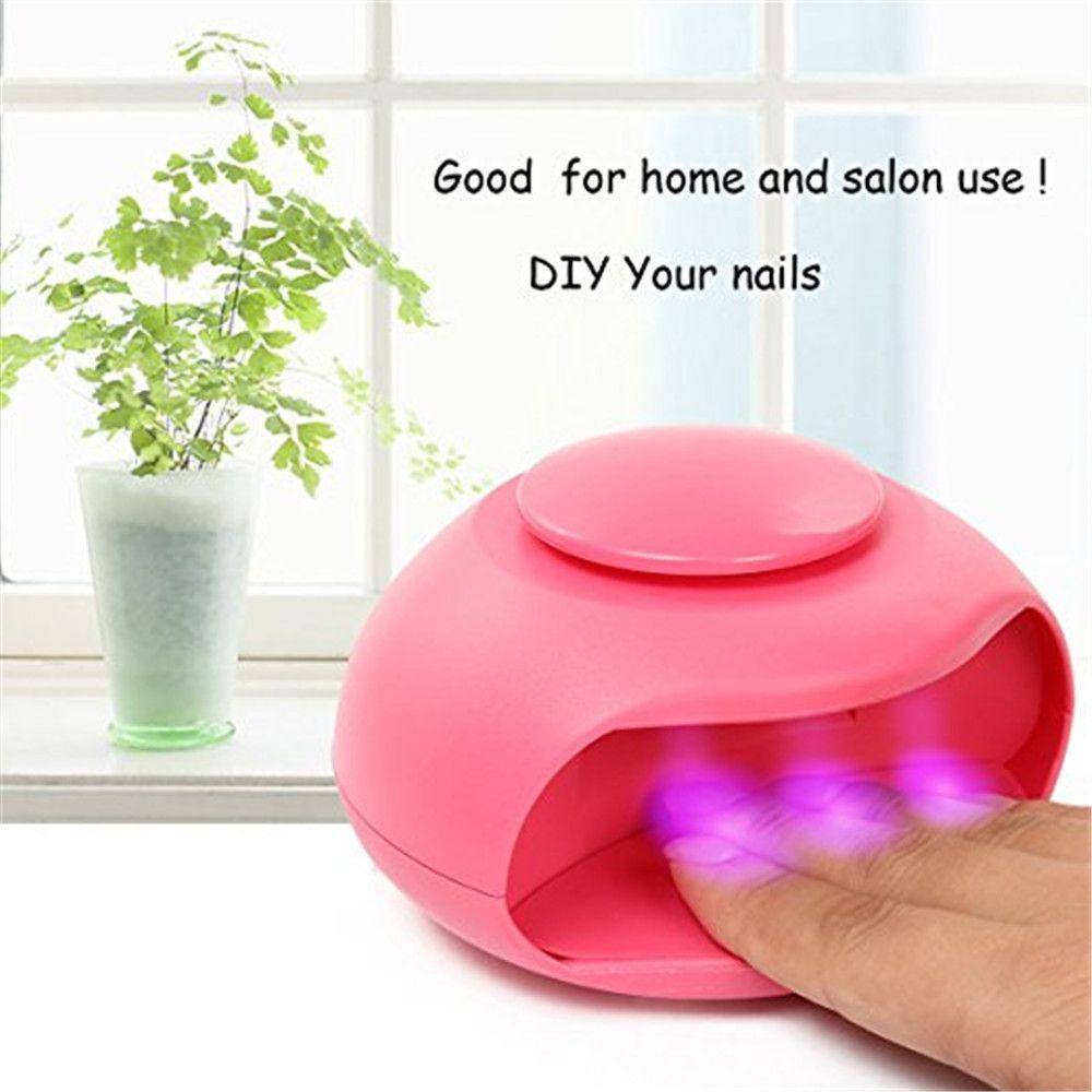 MAKARTT Portable USB Air Fan Nail Dryer LED Lamp Good for Regular ...