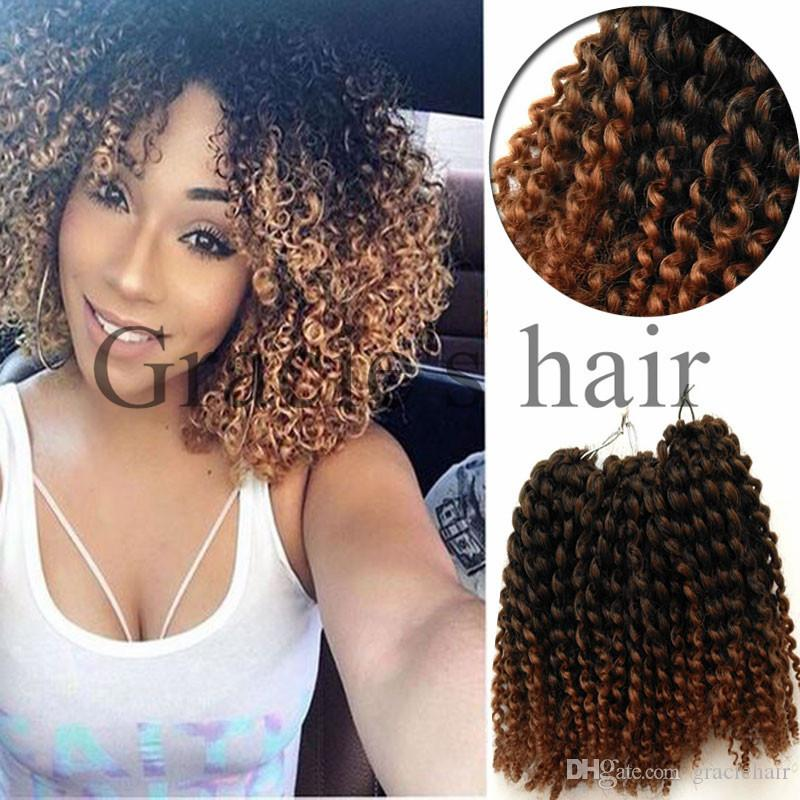 2018 curly crochet braids synthetic hair 8 water wave mali bob 2018 curly crochet braids synthetic hair 8 water wave mali bob crochet braiding hair kinky curl kanekalon braid ombre synthetic hair from graciehair ccuart Gallery