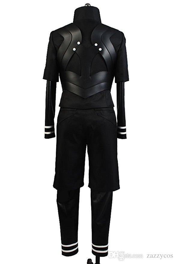 Costume cosplay uniforme da combattimento di Halloween Ghoul Ken Kaneki della tuta di Tokyo Ghoul
