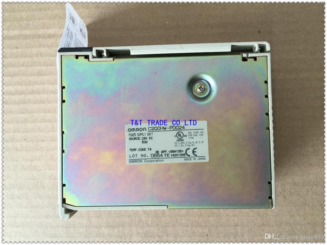 وحدة إمدادات الطاقة C200HW-PD024 OMRON PLC New in box one year warranty