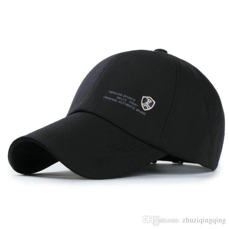 ponytail baseball cap mens menswear outdoor casual men sports letter starter