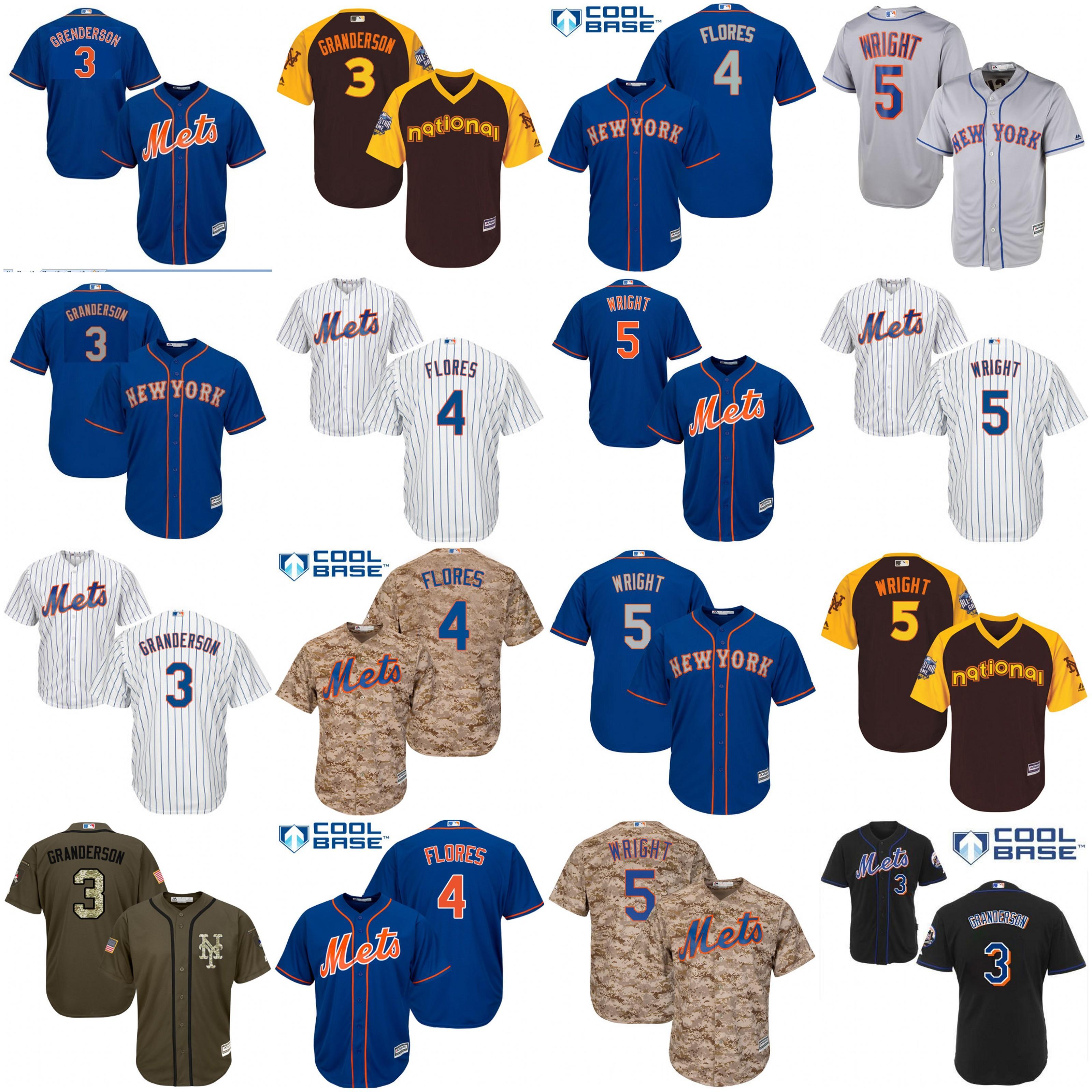 quality design efba6 84f33 new york mets 5 david wright los blue jersey