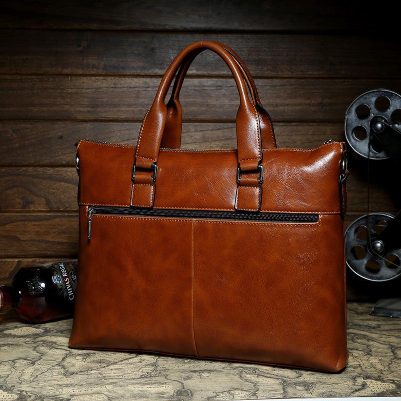 30315b8f02 Wholesale 2015 Mens Casual Briefcase Business Shoulder Bags POLO Men  Messenger Bags Tote Designer Computer Laptop Genuine Leather Bag Tote  Clutch Purse ...