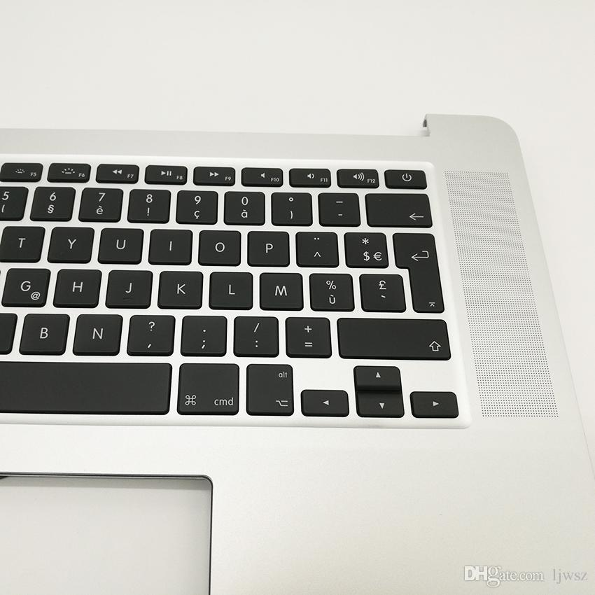 """Brand New Top case with FR Franch France keyboard For MacBook Pro 15"""" Retina A1398 topcase No trackpad 2015 2016"""