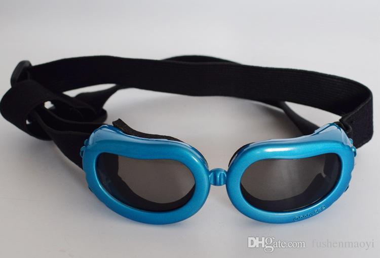 Pet Moda Serisi Köpek Güneş Gözlüğü Gözlükler Windproof Anti-parlama Anti-Toz Köpek Gözlük ücretsiz boyutu 6 renkler toptan ücretsiz kargo
