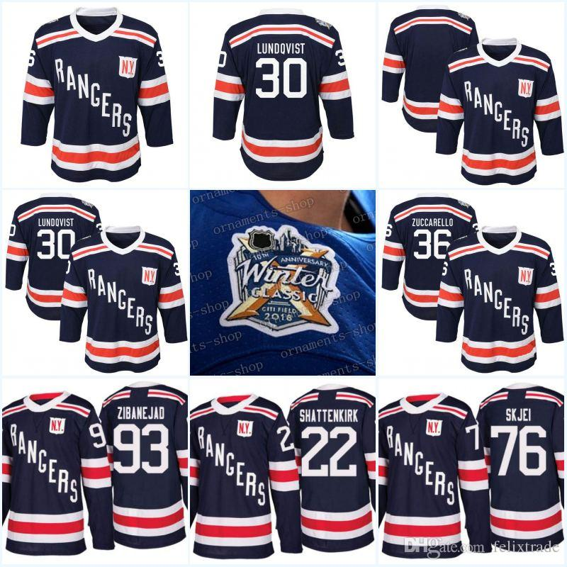 Youth 2018 Winter Classic New York Rangers 36 Mats Zuccarello 51 David  Desharnais 89 Pavel Buchnevich 93 Mika Zibanejad Navy Player Jersey UK 2019  From ... 518ee36d9