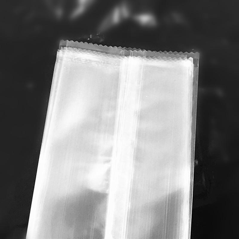 En gros Transparent Serré En Plastique Crème Glacée Sac Sac Nourriture Opp Paquet De Popsicle Pochette Gâteau Au Chocolat Paquet 8 * 19cm /
