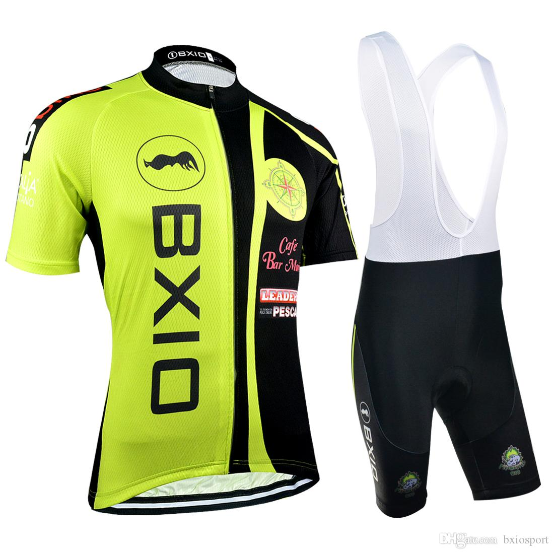 BXIO Original Design Cycling Jerseys Summer Short Sleeve Green Sport Bicycle  Clothes New Arrival Bikes Clothes BX 039 Cycle Shorts Castelli Bib Shorts  From ... 877c702b3