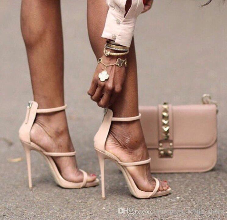 Compre Zapatos De Tacón Alto De Mujer De La Nueva Moda Sandalias De Tacón  De Aguja Sandalias Sexy Peep Toe Mujer Sandales A  9.05 Del  European brand shoes ... 1bb7739df957