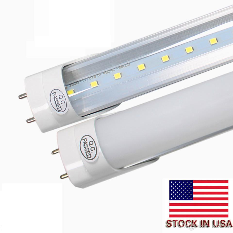 2018 No Tax Fee + Led T8 Replace Fluorescent Tubes Lights High ...