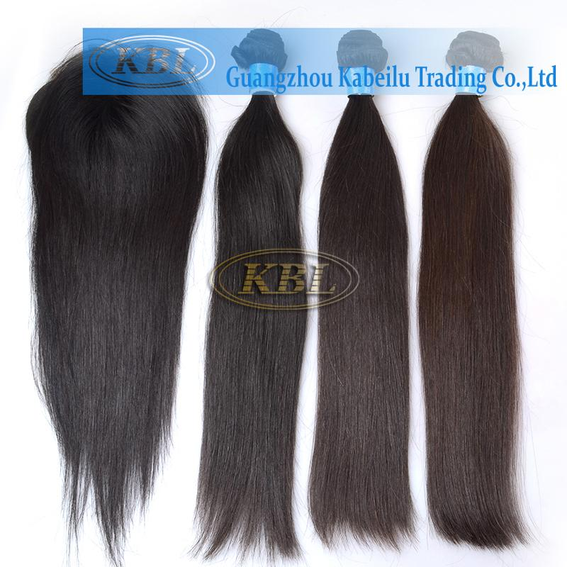 Wholesale Kbl Hot Selling Brazilian Virgin Hair Straight With