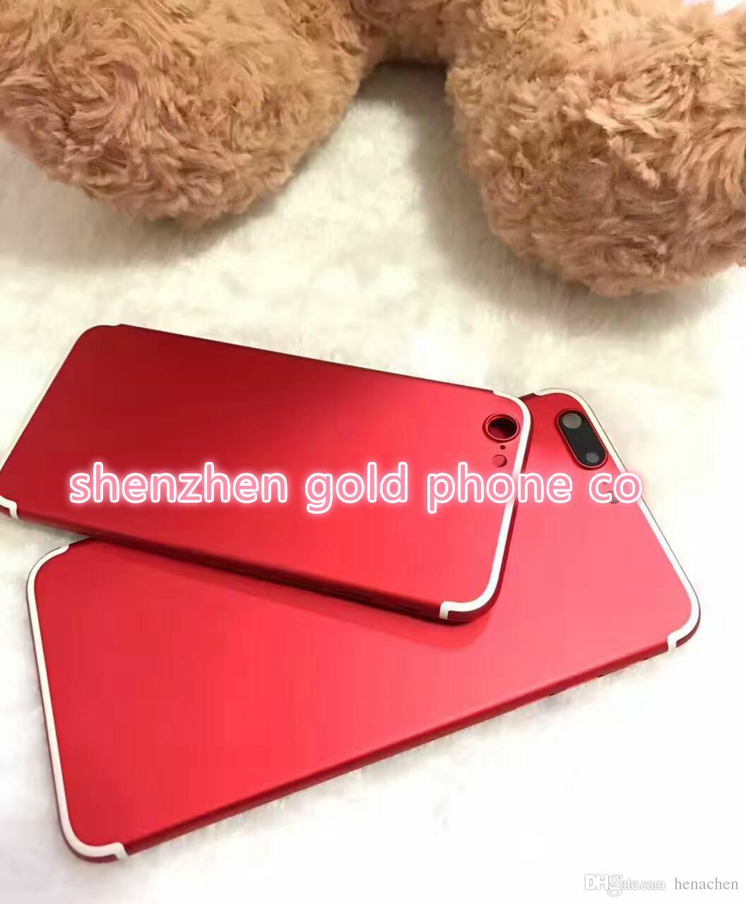 Acquista Nuovo Colore Rosso Custodia Posteriore Iphone 7 Matte Red