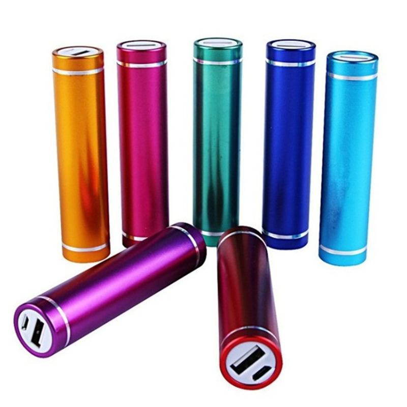 Banca economico energia portatile di sostegno 2600mAh cilindro PowerBank esterno Caricabatteria emergenza Power Pack Caricabatterie tutto il telefono astuto