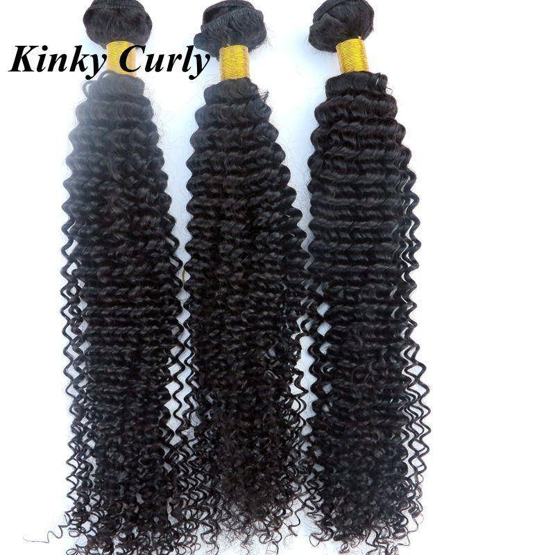 Bundles dei capelli umani brasiliani vergini vergini non trasformati Teaves Weves Wefts Wave Body Dritto Estensioni ricci profonde