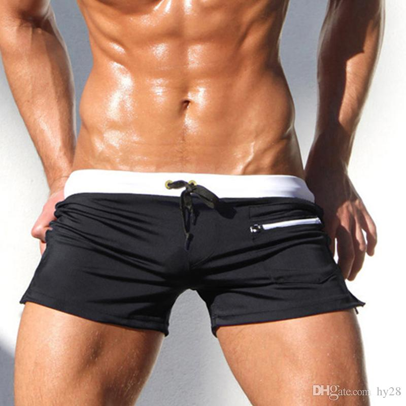 02cafaa7323 New Swimwear Men Swimsuit Sexy Swimming Trunks Sunga Hot Mens Swim Briefs Beach  Shorts Mayo Sungas De Praia Homens Calzoncillos Men Swimsuit Sexy Swimming  ...