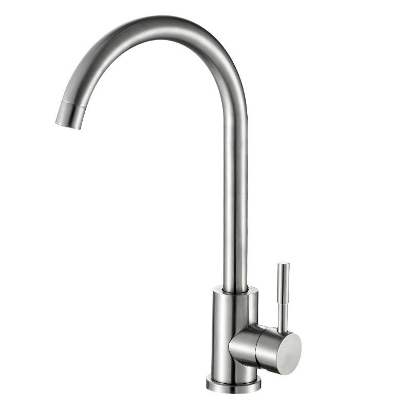 2018 Kitchen Dish Washing Basin Hot And Cold Water Tap 304 Stainless Steel Water  Tank Faucet Wire Drawing Can Rotating Faucet From Aoxuanfei, ...