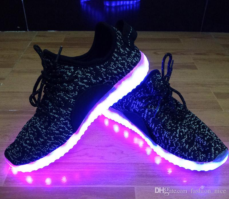 aba4db155 Led Shoes for Adults Casual Lovers Casual Led Luminous Shoes Men ...