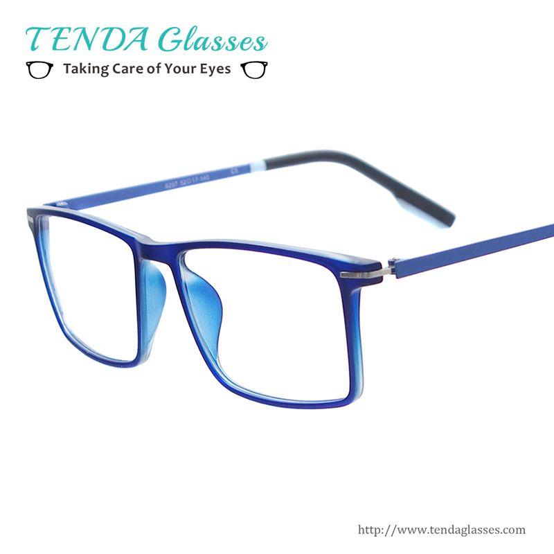 869c86afc8c Wholesale- Men Lightweight Colorful Eyewear Medium Size Square ...