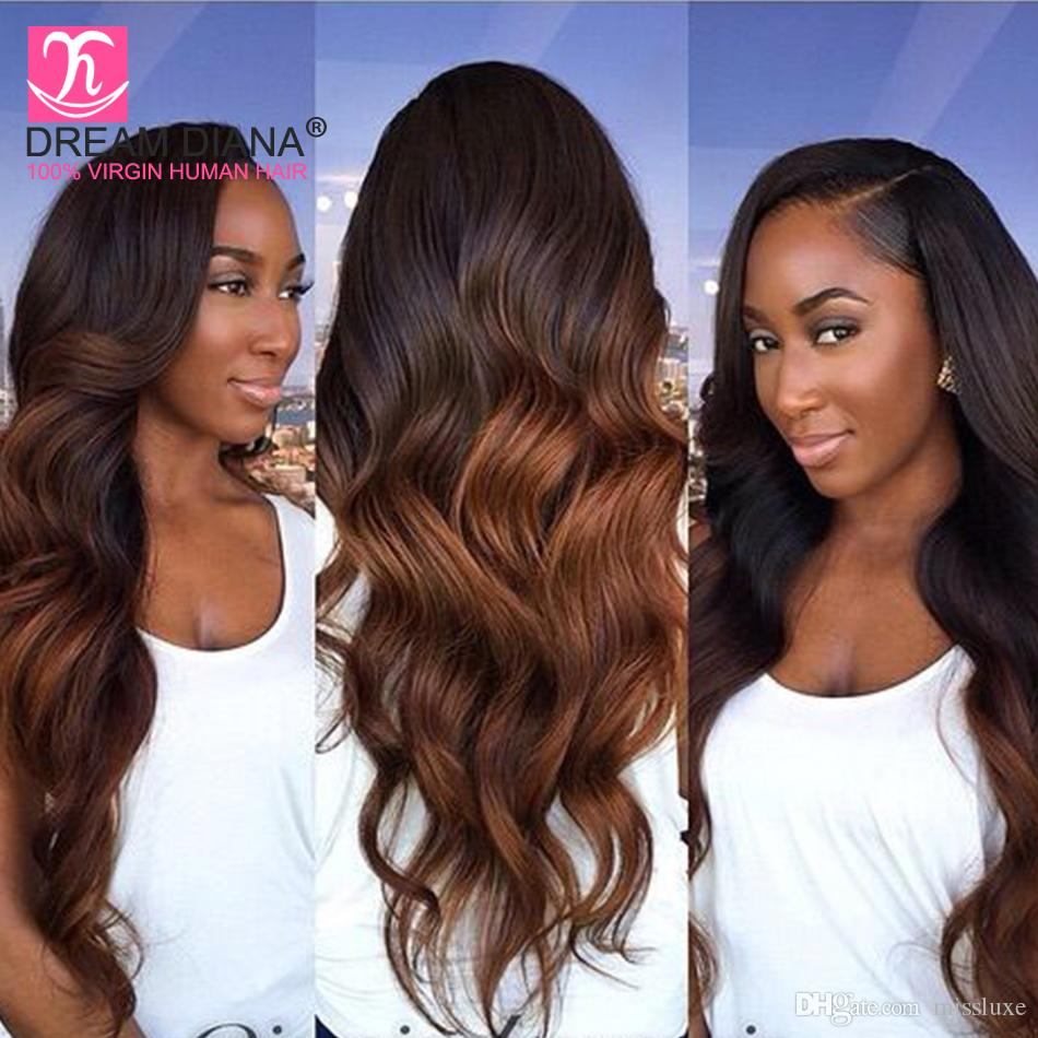 Top Quality Ombre Brazilian Body Wave Two Tone T1b27 T1b30 T1b33
