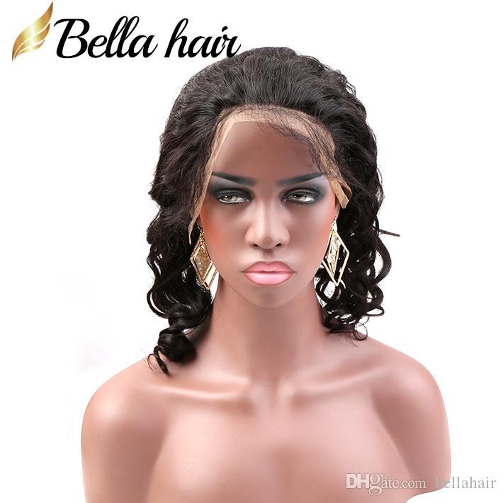 الشعر العذراء البرازيلي الإنسان 360 الرباط Frontals 22x4x2