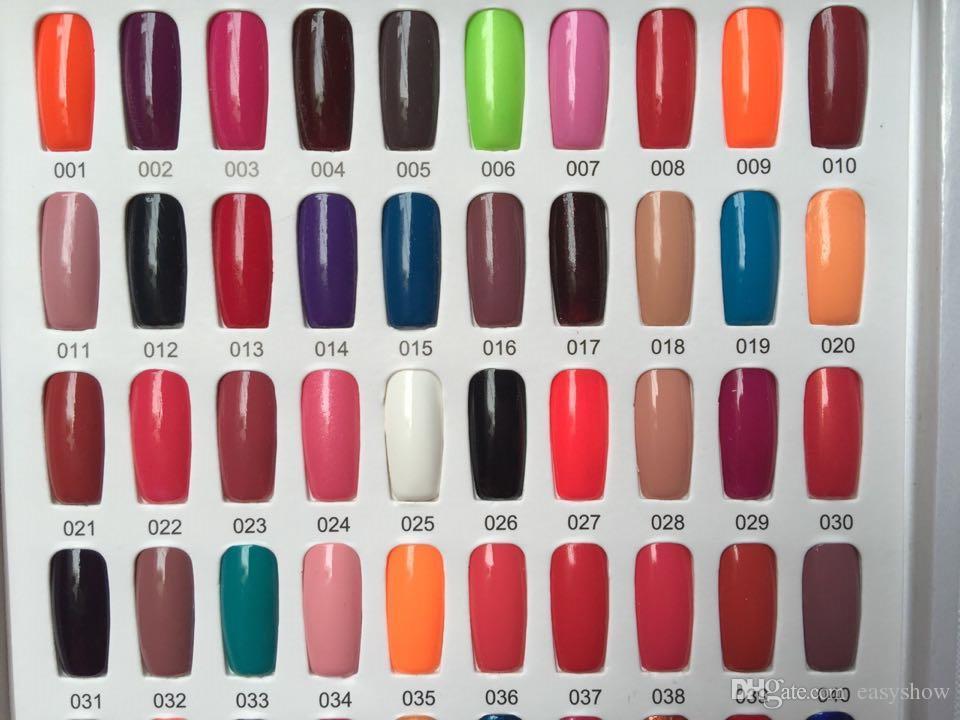 es / lote TOP Fashion op 150 esmalte de uñas Color del caramelo Día fácil Esmalte Nail Art Decoration Nail Lacquer Art Salon Gel es GRATIS DHL