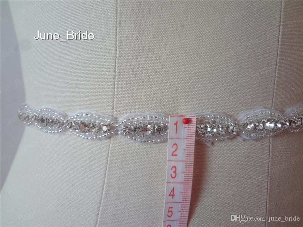 Double Row Glass Rhinestone Crystal Hand Chain Bridal Jewelry Wedding Party Bracelets Accessory Prom Evening Ribbon Tie Back