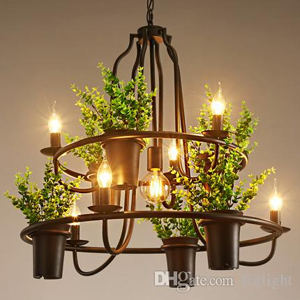 Pendant lamps creative personality chandeliers american european pendant lamps creative personality chandeliers american european industrial vintage artistic chandelier flower shop clothing store club bar dining room aloadofball Choice Image