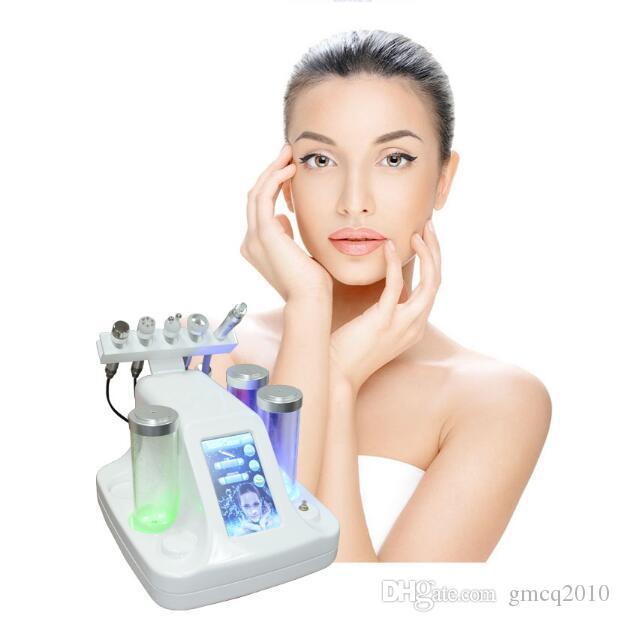 Profesional Hydro Microdermabrasión hidra facial Cuidado de la piel Limpiador Agua aqua Jet Oxygen Peeling Spa Dermabrasion Machine