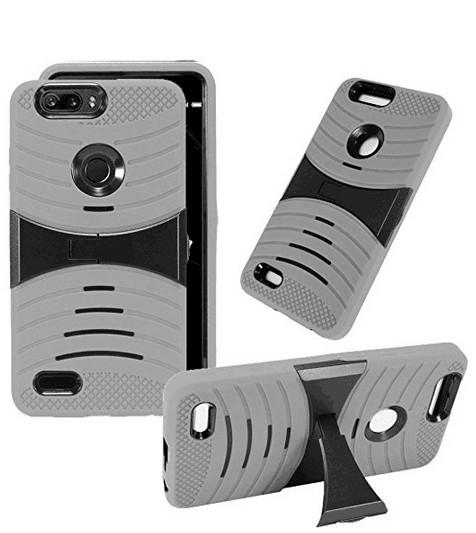 Armor Case For ZTE Sequoia /Blade Zmax Pro 2 Z982 For ZTE Max XL N9560  Kickstand Rugged Heavy Duty Cases D