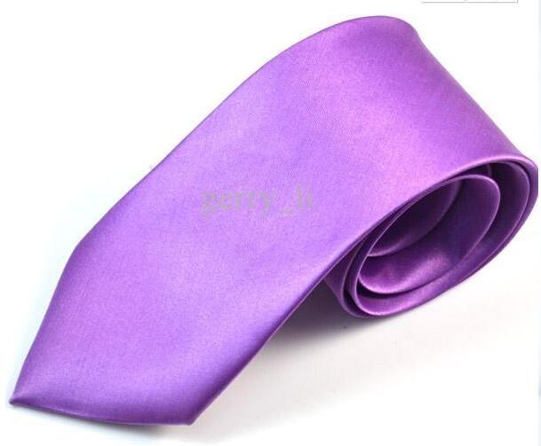 7CM Mens Krawatte Krawatte Fashion Solid Color Hochzeit Krawatten Männer Accessoires MOQ 12 Stück Versandkostenfrei