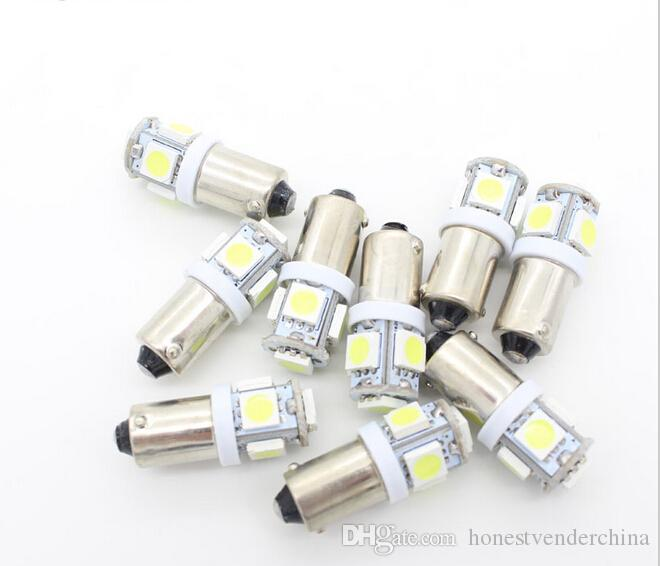 Wonderful White Blue Red Green Car Bulbs BA9S Led 12V Car LED Cars 5050 5 SMD 5 LED  Interior Bulbs Reading Light Car Light Sourse Automotive Light Bulbs  Automotive ...