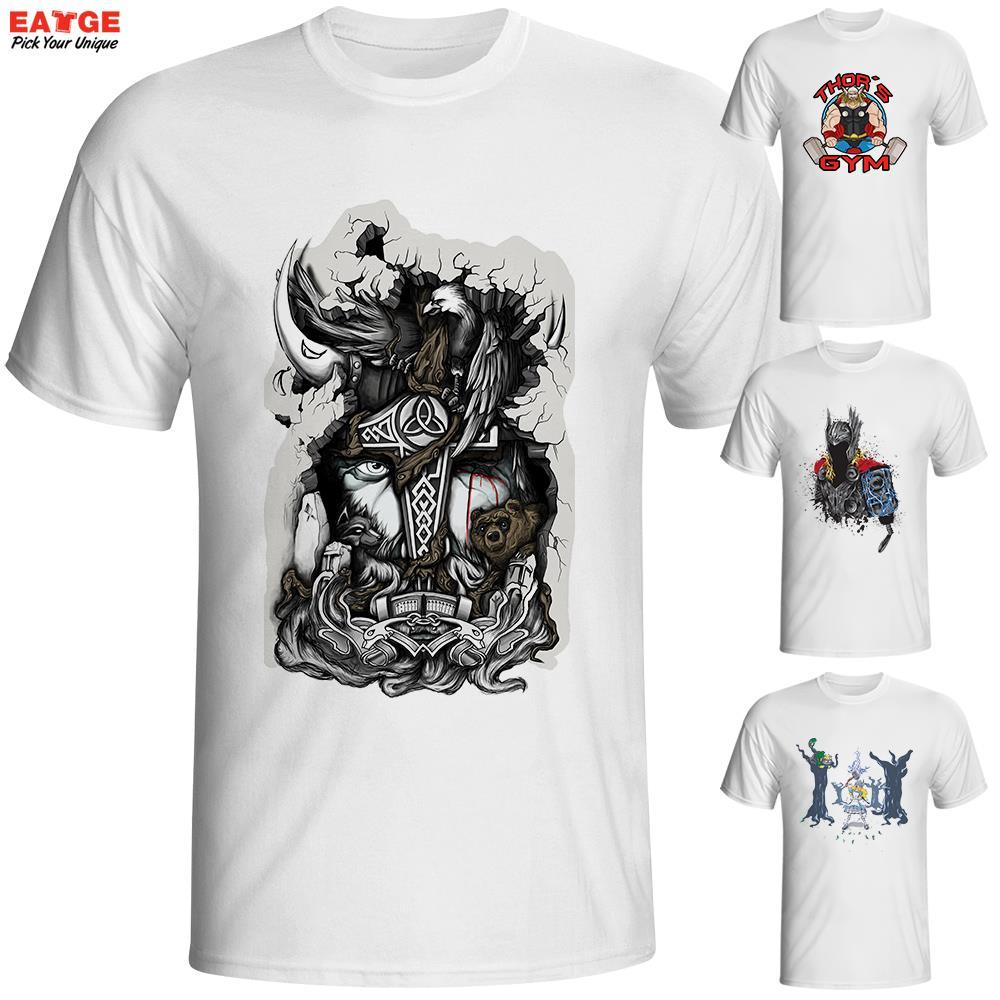 Wholesale Eatge Fashion New Design T Shirt Marvellous Great Odin