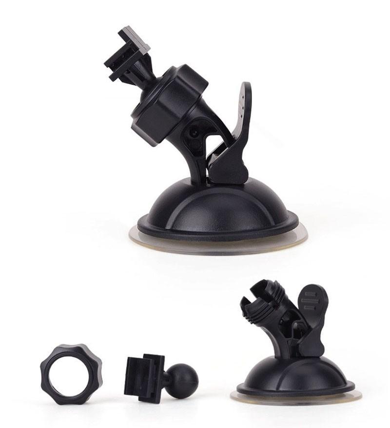 Otomatik Takograf 360 Derece Dönüş GPS Navigasyon Sucker Araç Video Kaydedici Kamera için Braketi Araç DVR Tutucu Mounts