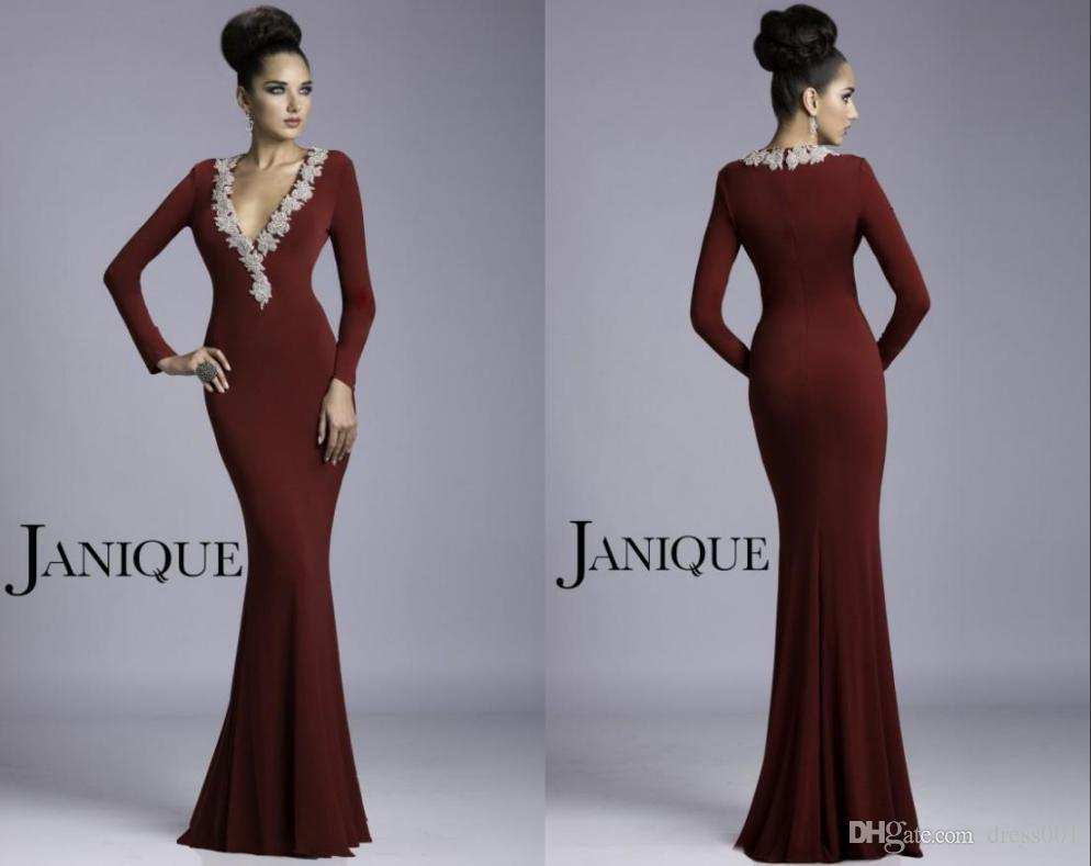 Sexy Mother Bride Dresses 2016 Elegant Janique Dress Bling