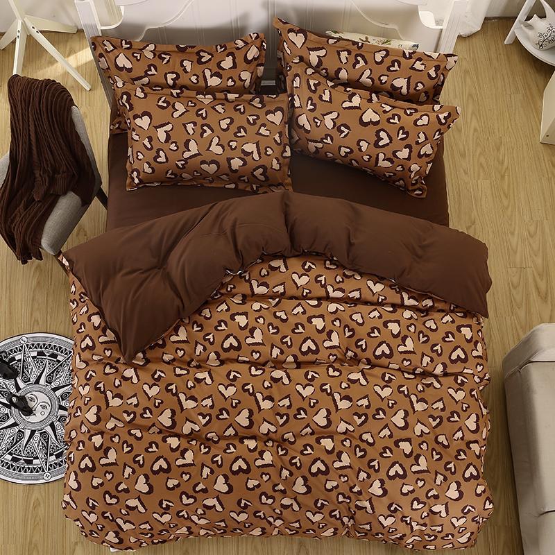 Wholesale Winter Bedding Set Super King Size Duvet Cover Leopard Bedding 3/Bed  Set V Pattern Bed Linen Flat Sheet Adult Bed Set 5size Down Comforter  Covers ...