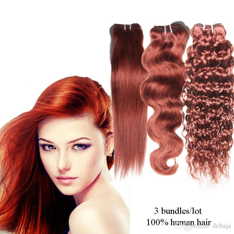 High Quality Human Hair Weave 3 Kinds hairstyle Brazilian Remy Human ...