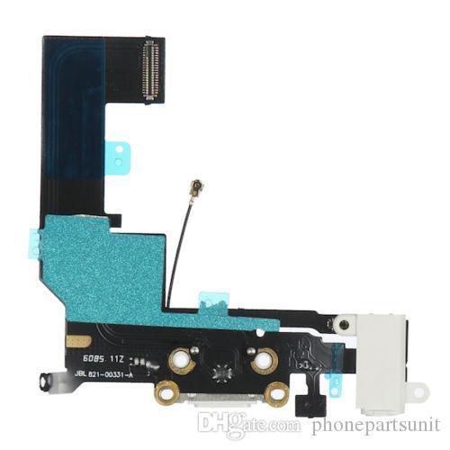 Original Micro USB Ladegerät Ladeanschluss Flexkabel Flachband Ersatz Reparatur für iPhone SE weiß und schwarz