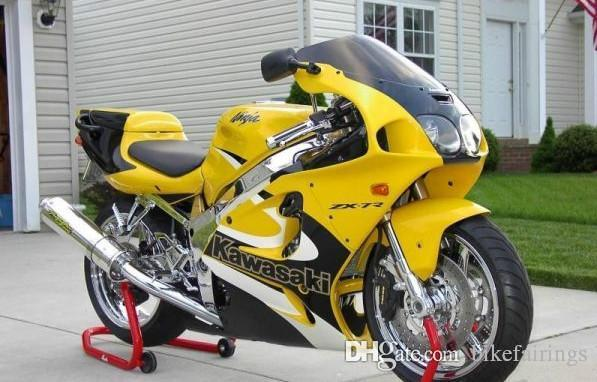 3 Gift NEW ABS Fairing set bodywork For Kawasaki Ninja ZX7R ZX-7R ZX 7R 1996-2003 1996 97 1998 1999 2000 2001 2002 2003 top buy yellow