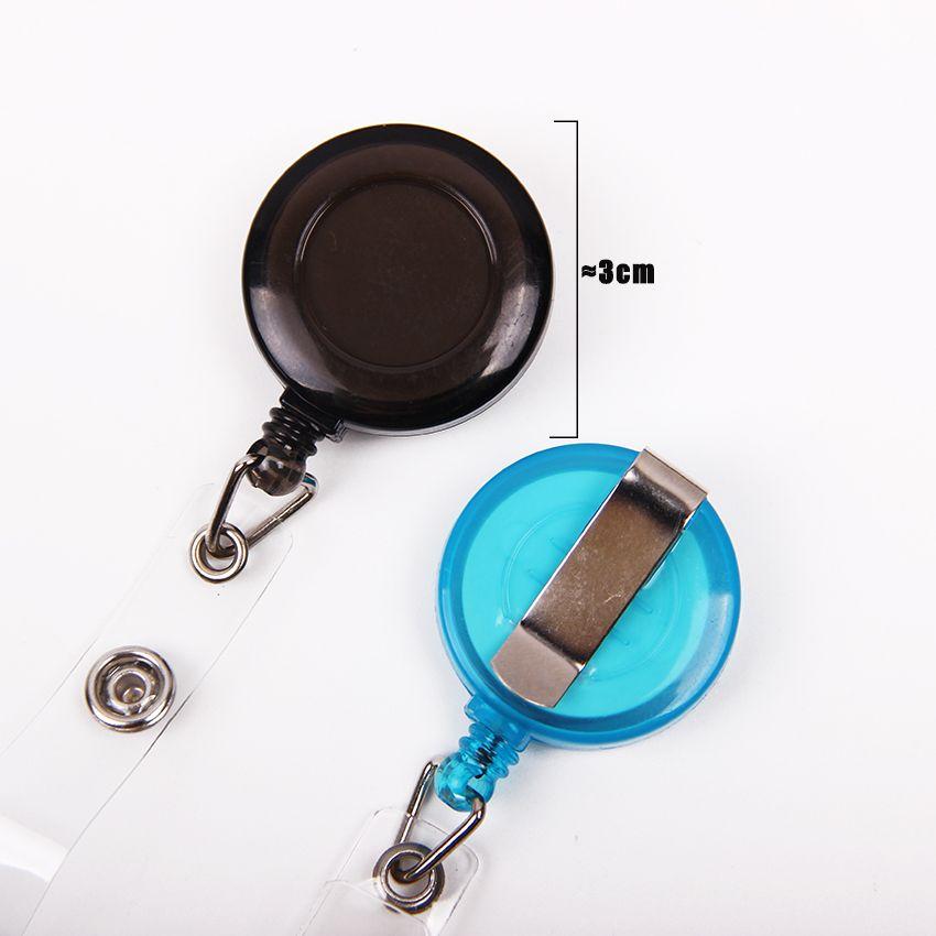Горячая выдвижной ID карты держатель значка катушки с зажимом ключ имя тега держателя карты отдачи катушки для школы офис компании
