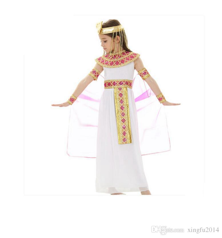 Perfect Halloween Costumes Boy Girl Ancient Egypt Egyptian Pharaoh Cleopatra Prince Princess Costume For Children Kids Cosplay Clothing Group Halloween ...  sc 1 st  DHgate.com & Perfect Halloween Costumes Boy Girl Ancient Egypt Egyptian Pharaoh ...