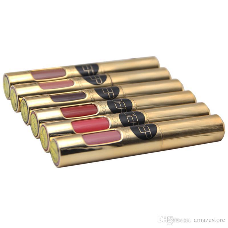 Hot DEP Make-up Lipgloss Lippenstift Wasserdicht 6 Farben Vertrauen CEO Fearless Miss unabhängige Macher Self-made Cosmestics DHL frei