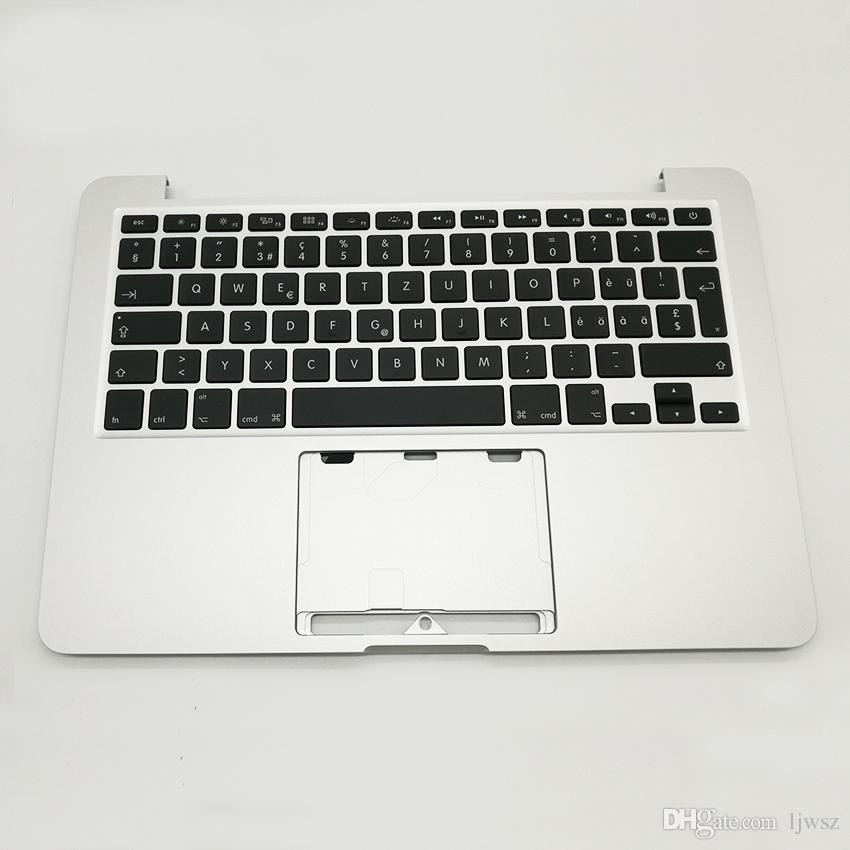 "New SW Swiss Keyboard For Macbook Pro Retina 13"" A1502 Keyboard Topcase Top Case Palmrest 2013 2014 Years"